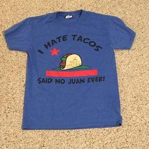Funny taco t shirt